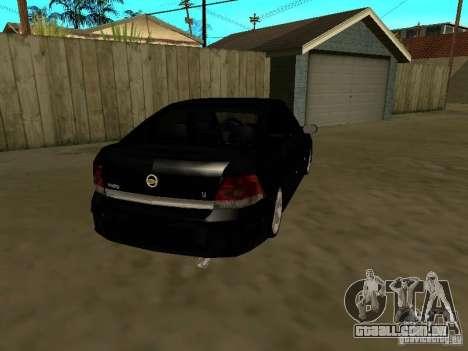 Chevrolet Vectra Elite 2.0 para GTA San Andreas vista direita