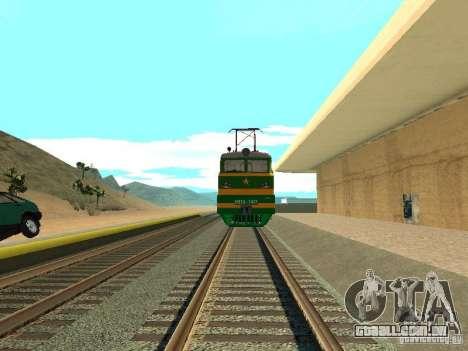Vl10-1472 para GTA San Andreas vista traseira