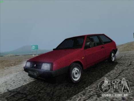 VAZ 21083i para GTA San Andreas vista direita