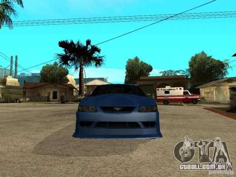 Ford Mustang Cobra R Tuneable para GTA San Andreas vista direita
