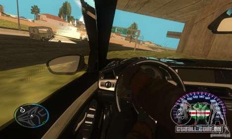 Chechen Speedometr para GTA San Andreas terceira tela