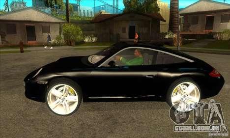 Porsche 911 Targa 4 para GTA San Andreas esquerda vista