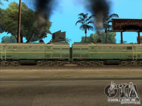 2te10v-3594 para GTA San Andreas vista interior
