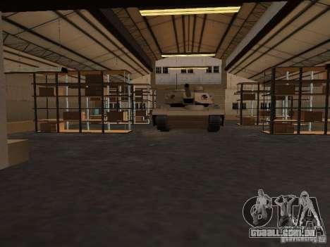 A base militar revivida em docas v 3.0 para GTA San Andreas por diante tela