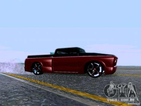 Slamvan Tuned para GTA San Andreas esquerda vista