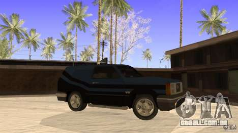 Sandking EX V8 Turbo para GTA San Andreas esquerda vista
