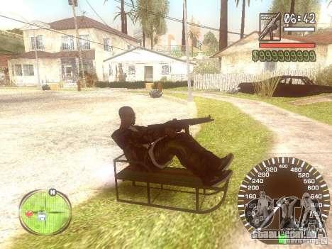 Sani para GTA San Andreas traseira esquerda vista