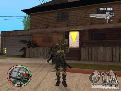 Coleção de armas de Crysis 2 para GTA San Andreas