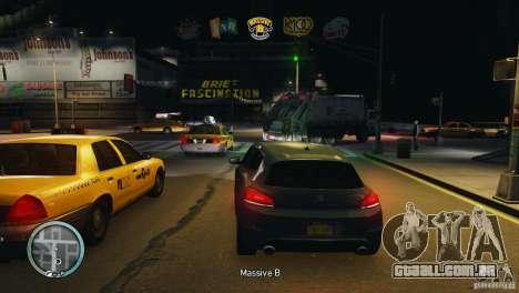 Coloured Radio HUD para GTA 4 por diante tela