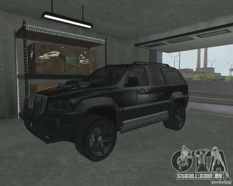 SUV de NFS para GTA San Andreas esquerda vista