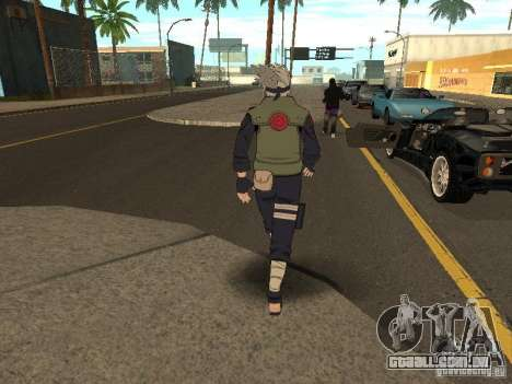 Hatake Kakashi From Naruto para GTA San Andreas terceira tela