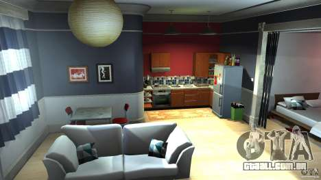 Retextured Lopez Apartment para GTA 4 segundo screenshot