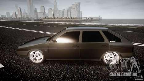 Lada VAZ 2109 para GTA 4 vista interior