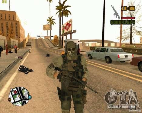Ghost para GTA San Andreas segunda tela
