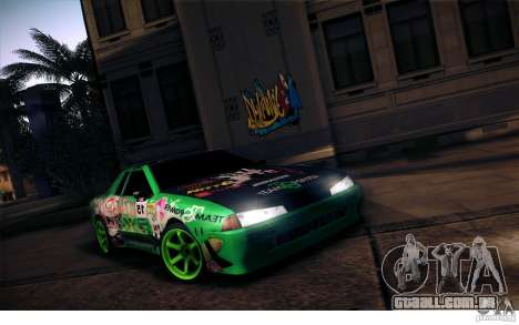 Elegy Toy Sport v2.0 Shikov Version para GTA San Andreas vista superior