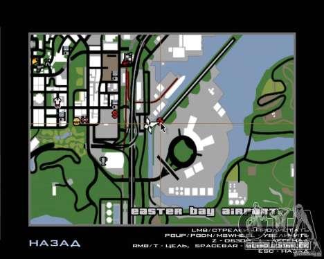 Piloto de emprego para GTA San Andreas quinto tela