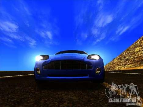 Aston Martin V12 Vanquish V1.0 para vista lateral GTA San Andreas