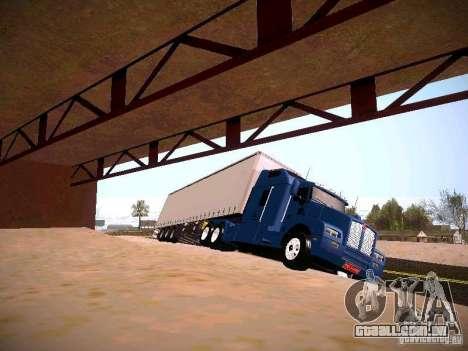 Kenworth T600 para GTA San Andreas esquerda vista