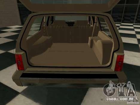 Oldsmobile Cutlass Cruiser 1993 para GTA San Andreas vista direita