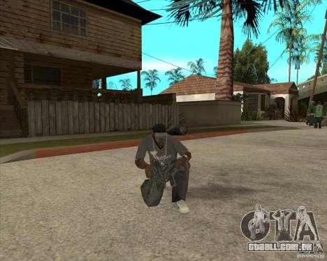Armas de Pak de Fallout New Vegas para GTA San Andreas sétima tela