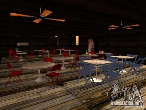 Nova Verona de bar de praia para GTA San Andreas quinto tela