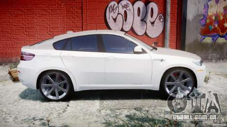 BMW X6M v1.0 para GTA 4 vista lateral