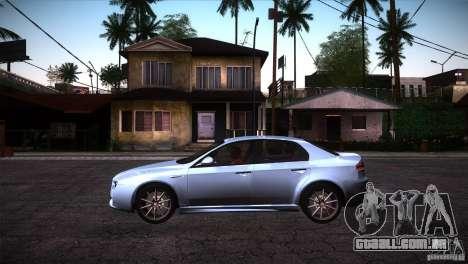 Alfa Romeo 159 Ti para GTA San Andreas esquerda vista