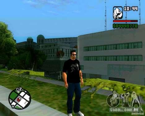 T-shirt AVP para GTA San Andreas segunda tela