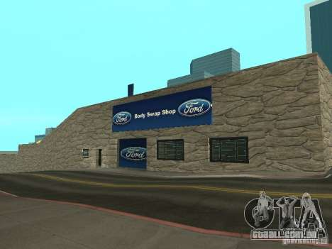 Auto Show Ford para GTA San Andreas