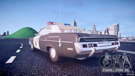 AMC Matador CHP [ELS] para GTA 4 vista inferior