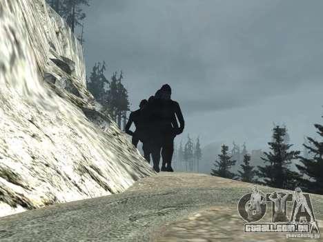 Mt. Chiliad Creature para GTA San Andreas segunda tela