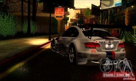SA_gline 4.0 para GTA San Andreas sexta tela