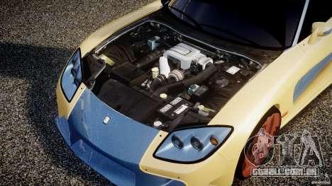 Mazda RX-7 Veilside v0.8 para GTA 4 vista de volta