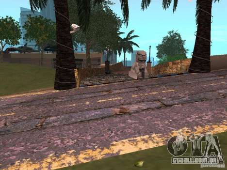 Novas estradas em Vajnvude para GTA San Andreas terceira tela