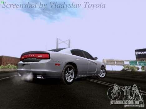 Dodge Charger 2013 para GTA San Andreas vista interior