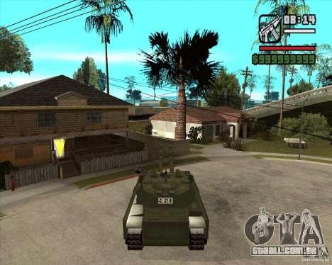 TT-140 mb para GTA San Andreas esquerda vista