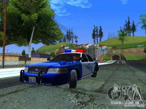 Ford Crown Victoria Belling State Washington para GTA San Andreas