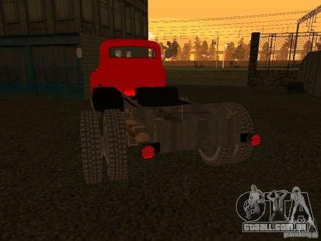 GAZ 53 caminhão para GTA San Andreas vista direita