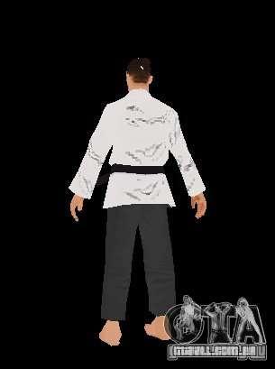 Reteksturirovannye karate para GTA San Andreas terceira tela
