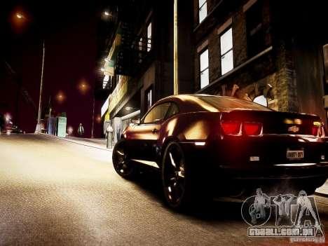 Chevrolet Camaro SS 2010 para GTA 4 vista superior