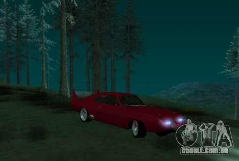 Dodge Charger Daytona para GTA San Andreas