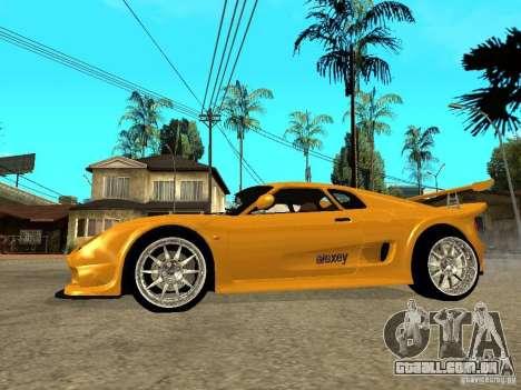 Noble M12 GTO Beta para GTA San Andreas esquerda vista