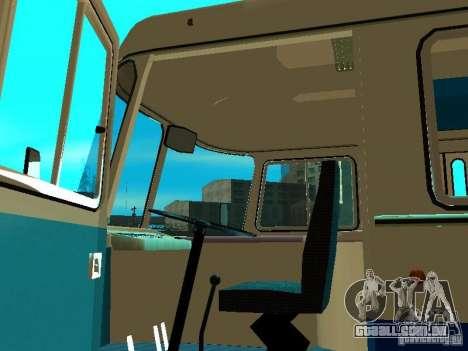 SULCO 672.60 ao ar livre para GTA San Andreas vista traseira