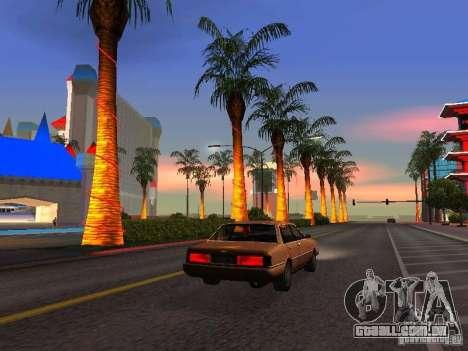 Gráficos das versões do console para GTA San Andreas terceira tela