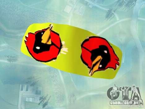 O pára-quedas com o pássaro de Omsk para GTA San Andreas