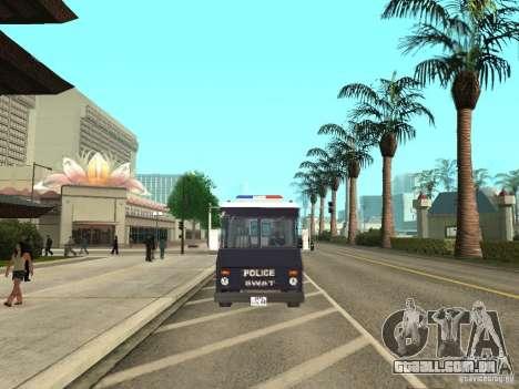 SWAT de Los Angeles para GTA San Andreas vista direita