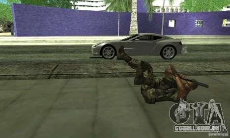 Sam Fisher Army SCDA para GTA San Andreas quinto tela