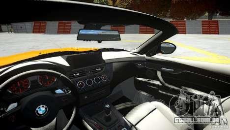 BMW Z4 sDrive 28is para GTA 4 vista lateral