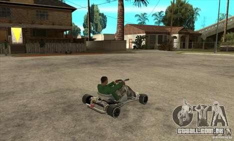 Stage 6 Kart Beta v1.0 para GTA San Andreas vista direita