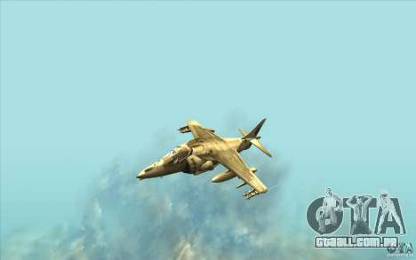 Harrier GR7 para GTA San Andreas